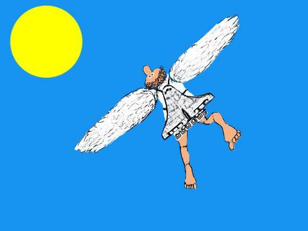 Карикатура: Ракетоноситель., КотБит