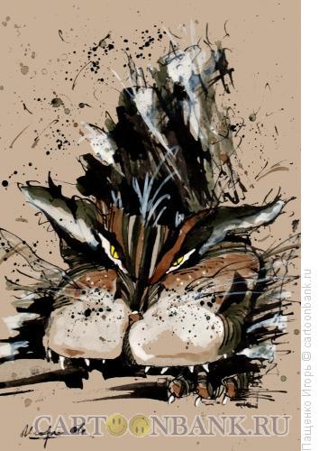 Карикатура: Кот, Пащенко Игорь