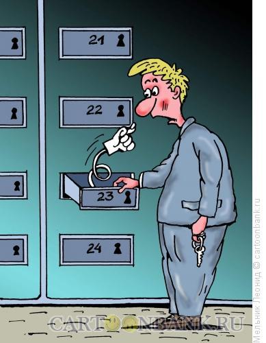 Карикатура: Получите свои дивиденды, Мельник Леонид