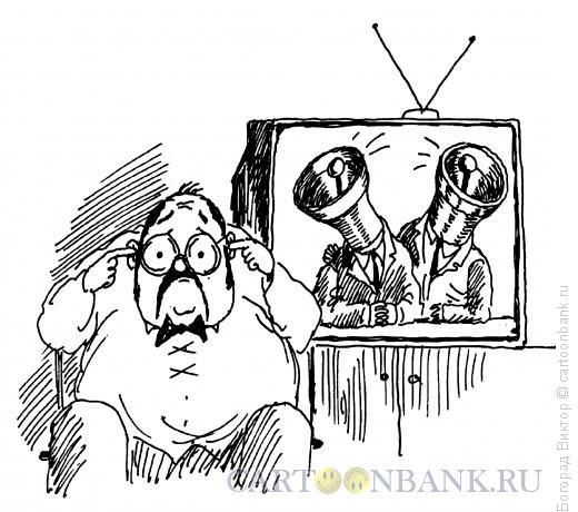 Карикатура: Трезвон, Богорад Виктор