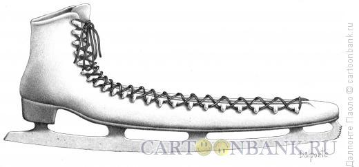 Карикатура: длинный-длинный конек, Далпонте Паоло