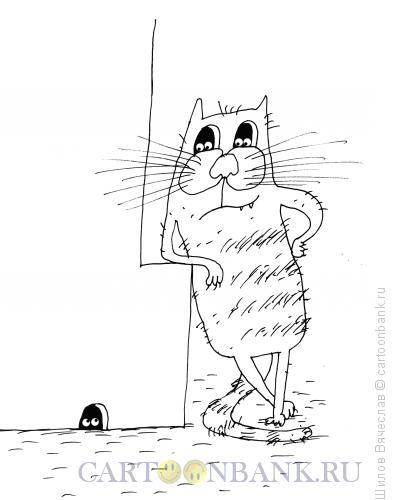 Карикатура: Глазки, Шилов Вячеслав