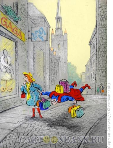 Карикатура: Подарки к Праздникам, Сергеев Александр