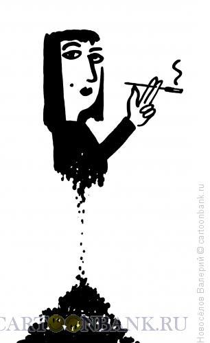 Карикатура: Пепел, Новосёлов Валерий