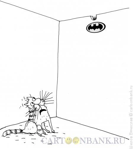 Карикатура: Бетмен, Шилов Вячеслав