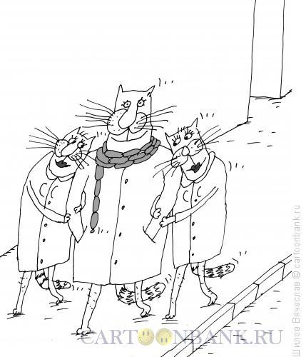 Карикатура: Сосиски, Шилов Вячеслав