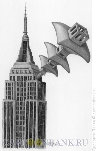 Карикатура: Борьба экономик, Далпонте Паоло