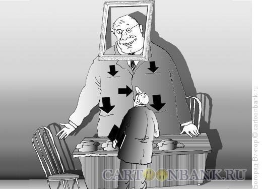 Карикатура: Коррупционер, Богорад Виктор