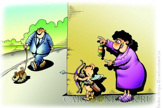 Карикатура: Наемный стрелок, Кийко Игорь