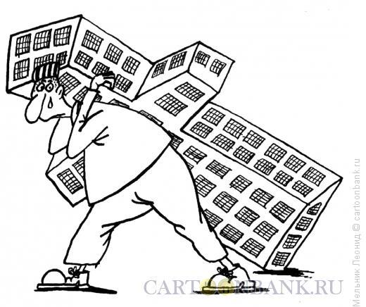 Карикатура: Тяжкий крест, Мельник Леонид