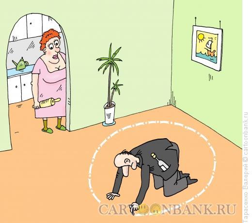 Карикатура: Надежная защита, Тарасенко Валерий