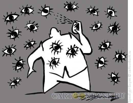 Карикатура: Глаза, Эренбург Борис
