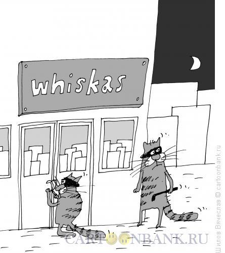 Карикатура: Кража со взломом, Шилов Вячеслав