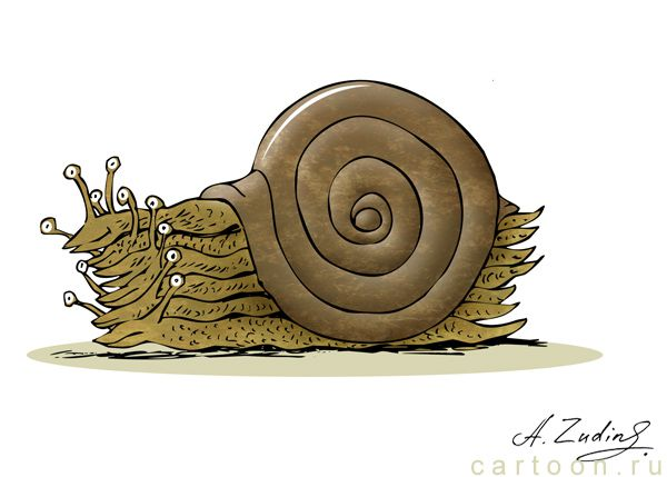 Карикатура: Коммуналка, Александр Зудин