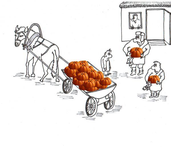 Карикатура: Сваты, Копейченко Валерий