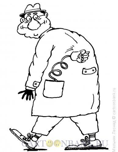 Карикатура: Фига в кармане, Мельник Леонид