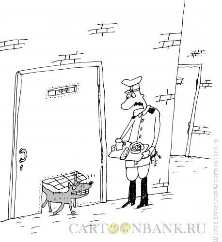 Карикатура: Вход и выход, Шилов Вячеслав
