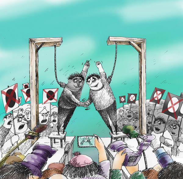 Карикатура: за дружбу, Алла Сердюкова