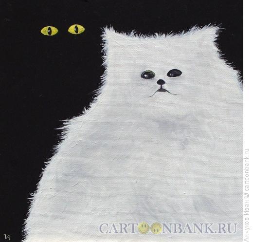 Карикатура: Белая на черном, Анчуков Иван