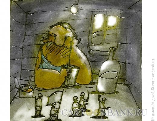 Карикатура: Оловянный, Климов Андрей