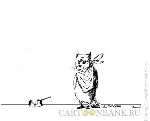 Карикатура: В ожидании завтрака, Богорад Виктор