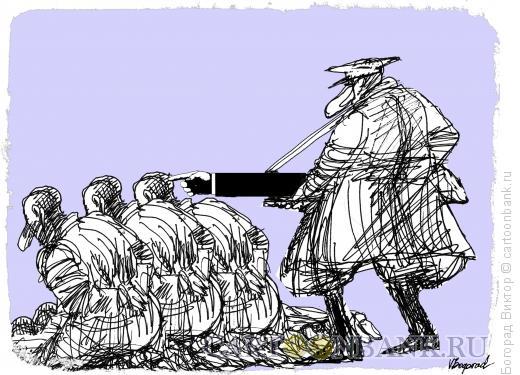 Карикатура: Диктатор, Богорад Виктор