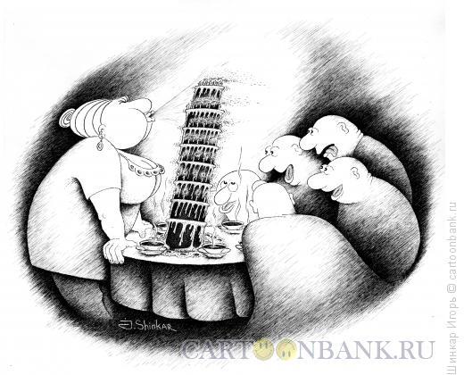 Карикатура: Именинница, Шинкар Игорь