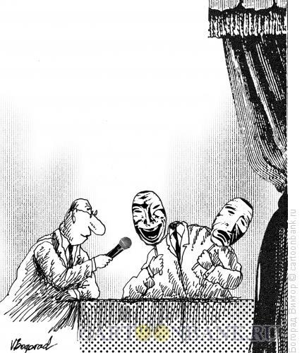 Карикатура: Интервью, Богорад Виктор