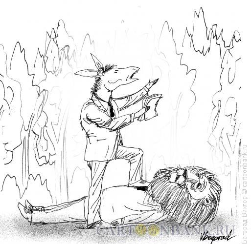 Карикатура: Графоман, Богорад Виктор