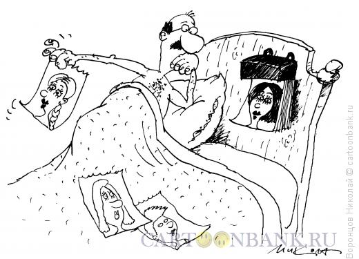 Карикатура: Календарь, Воронцов Николай