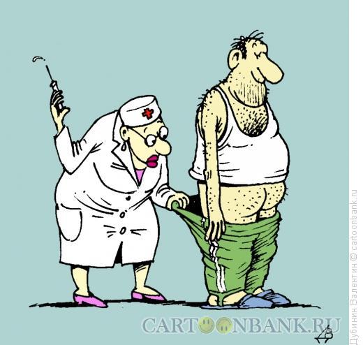 Карикатура: Отвернулся, Дубинин Валентин