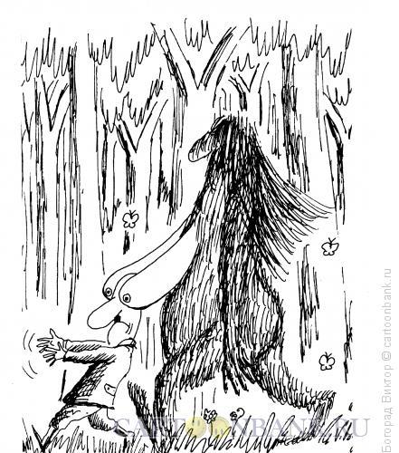 Карикатура: В поисках йети, Богорад Виктор