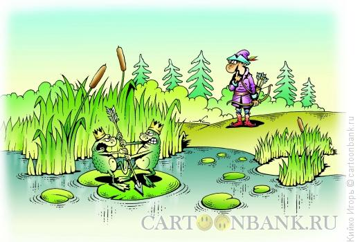 Карикатура: Конкуренция, Кийко Игорь