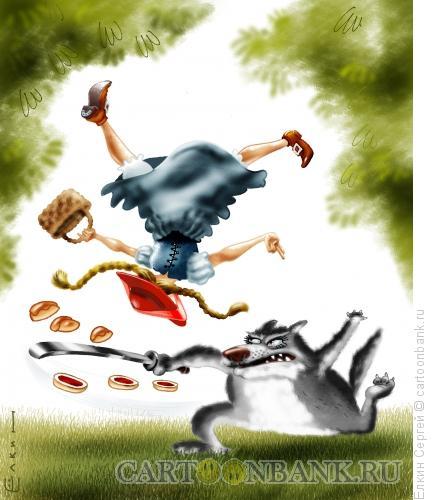 Карикатура: Старая сказка, Ёлкин Сергей