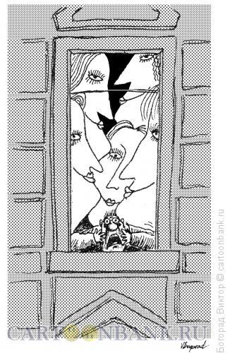 Карикатура: Засилье женщин, Богорад Виктор