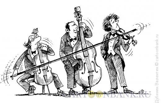 Карикатура: Один за всех, Дубинин Валентин