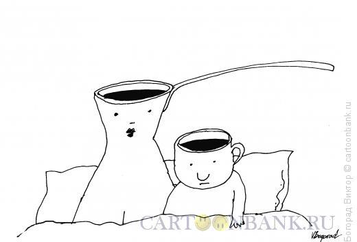 Карикатура: Утро в постели, Богорад Виктор