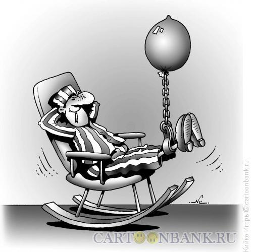 Карикатура: Отдыхание срока, Кийко Игорь
