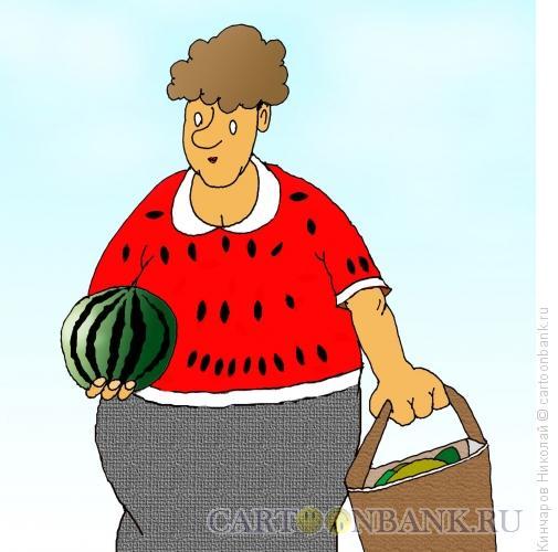 Карикатура: Ягода-ягодка, Кинчаров Николай