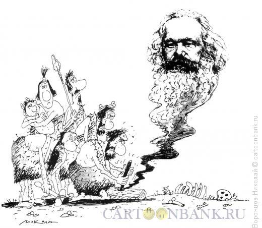 Карикатура: Не играй с огнем!, Воронцов Николай