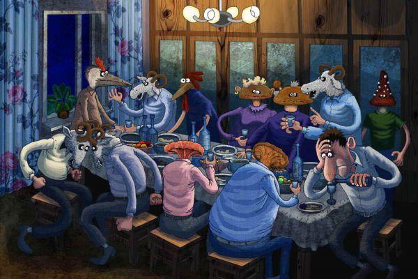Карикатура: Без названия, Игорь Иванов