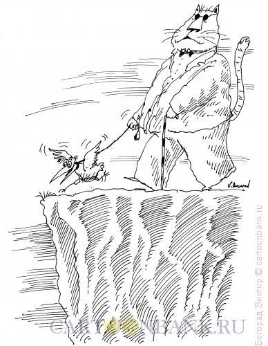 Карикатура: Поводырь, Богорад Виктор