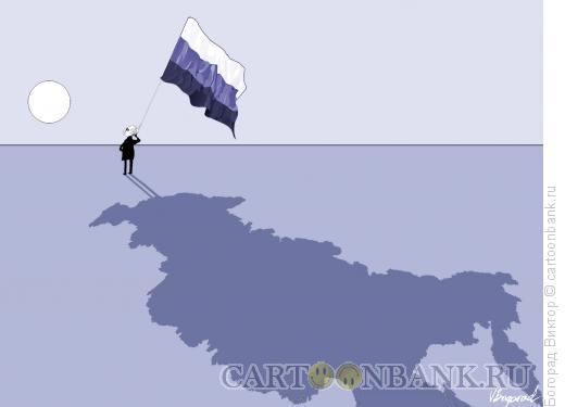Карикатура: Тень, Богорад Виктор