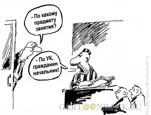 Карикатура: Уроки жизни, Богорад Виктор