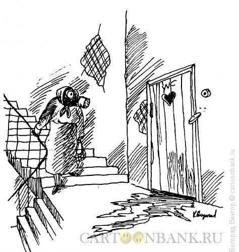 Карикатура: Нехороший лифт, Богорад Виктор