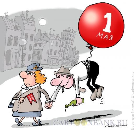 Карикатура: 1 ???, Воронцов Николай