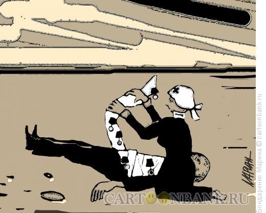 Карикатура: Медали и бинты, Бондаренко Марина
