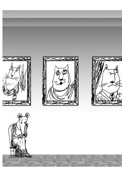Карикатура: Коты, Виктор БОГОРАД
