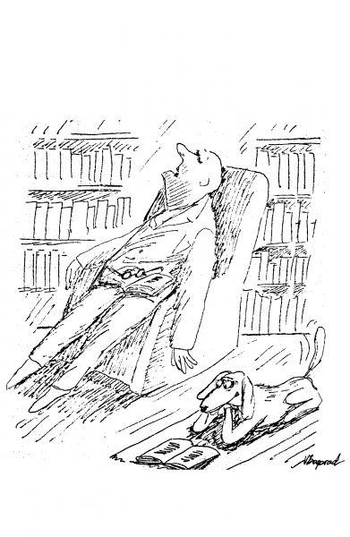 Карикатура: Собака, Виктор БОГОРАД