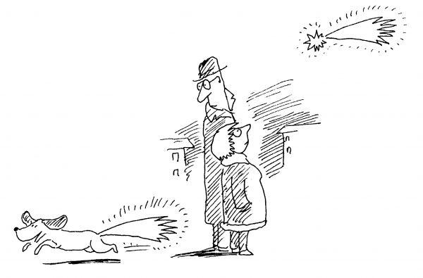 Карикатура: Собачка, Виктор БОГОРАД